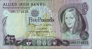 5 Pounds (Allied Irish Banks PLC) -  obverse