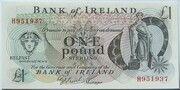 1 Pound (Bank of Ireland) -  obverse
