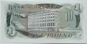 1 Pound (Bank of Ireland) -  reverse