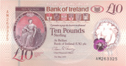 10 Pounds (Bank of Ireland) -  obverse