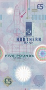 5 Pounds (Northern Bank) – reverse