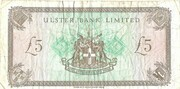 5 Pounds (Ulster Bank Limited) – reverse