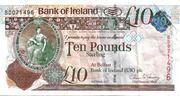 10 Pounds (Bank of Ireland) – obverse
