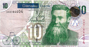 10 Pounds (Danske Bank) – obverse