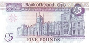 5 Pounds (Bank of Ireland) -  reverse
