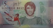 5 Pounds (Ulster Bank Limited; George Best) – reverse