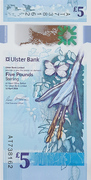 5 Pounds (Ulster Bank) – obverse