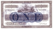 1 Pound (Northern Bank) – obverse