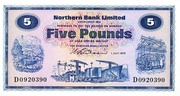 5 Pounds (Northern Bank) – obverse