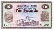 10 Pounds (Northern Bank) – obverse