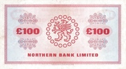 100 Pounds (Northern Bank) -  reverse