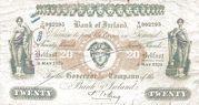 20 Pounds (Bank of Ireland) – obverse