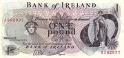 1 Pound (Bank of Ireland) – obverse