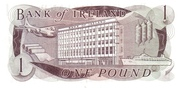 1 Pound (Bank of Ireland) – reverse