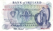 5 Pounds (Bank of Ireland) – obverse