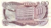 10 Pounds (Bank of Ireland) – reverse