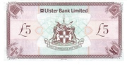 5 Pounds (Ulster Bank) – reverse
