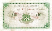 10 Pounds (Ulster Bank) – reverse