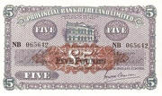5 Pounds (Provincial Bank of Ireland) – obverse