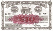10 Pounds (Provincial Bank of Ireland) – obverse