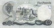 5 Pounds (Allied Irish Banks) – reverse
