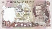 10 Pounds (Allied Irish Banks) – obverse