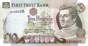 10 Pounds (First Trust Bank) – obverse