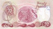20 Pounds (Allied Irish Banks) – reverse