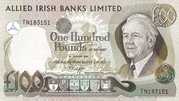 100 Pounds (Allied Irish Banks) – obverse