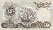 100 Pounds (Allied Irish Banks) – reverse
