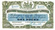 1 Pound (Belfast Banking Company) – obverse