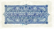 1 Pound (Belfast Banking Company) – reverse