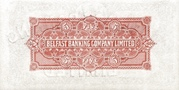 5 Pounds (Belfast Banking Company) – reverse