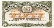 50 Pounds (Belfast Banking Company) – obverse