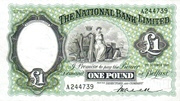 1 Pound (National Bank) – obverse