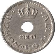 10 Øre - Haakon VII -  obverse