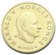 1500 Kroner - Harald V (1994 Olympics) -  obverse
