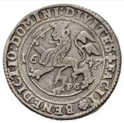 2 Speciedaler - Christian IV – reverse