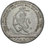 1 Reisedaler - Frederik V – reverse