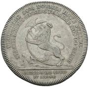 1 Reisedaler - Christian VII – reverse