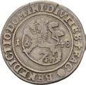 ¼ Speciedaler - Christian IV – reverse