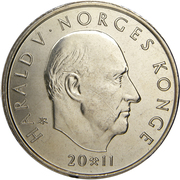 10 Kroner - Harald V (Norway University Anniversary) – obverse