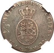 ⅓ Speciedaler - Christian VII – reverse
