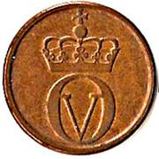 2 Øre - Olav V (small script) -  obverse