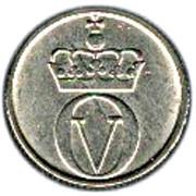 10 Øre - Olav V (small letters) -  obverse