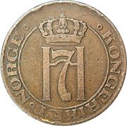 5 Øre - Haakon VII -  obverse