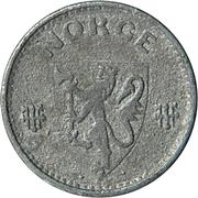 25 Øre - Haakon VII (WW2 German Occupation) -  obverse