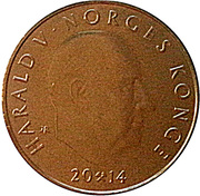 20 Kroner - Harald V (200th Anniversary of the Constitution) – obverse