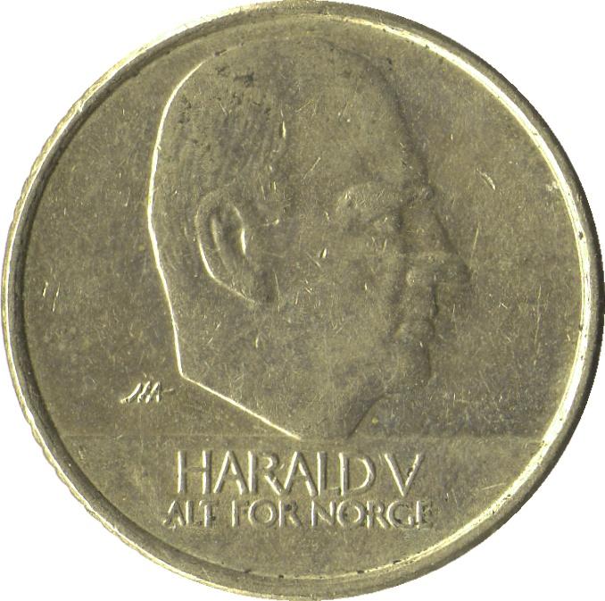 10 Kroner Harald V