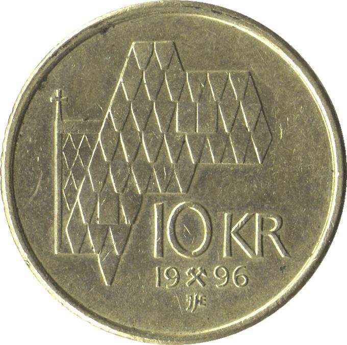 10 Kroner Harald V Norway Numista